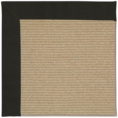 Creative Concepts-Sisal Canvas Black Machine Tufted Rugs
