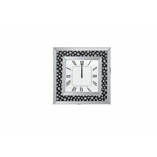 ACME Marku Wall Clock - 97402 - Mirrored