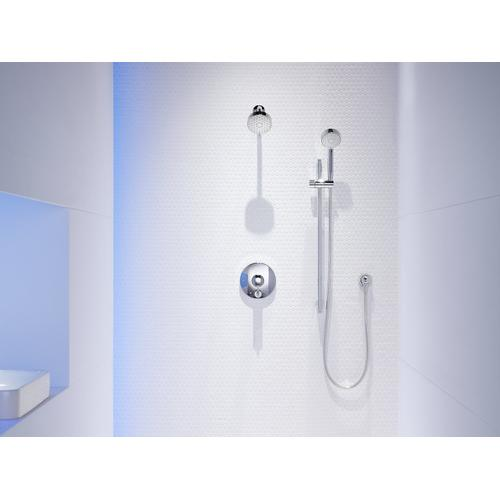 Polished Chrome 2.0 Gpm Multifunction Showerhead