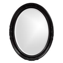 View Product - Queen Ann Mirror - Glossy Black