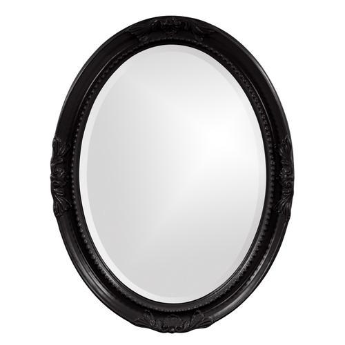 Howard Elliott - Queen Ann Mirror - Glossy Black