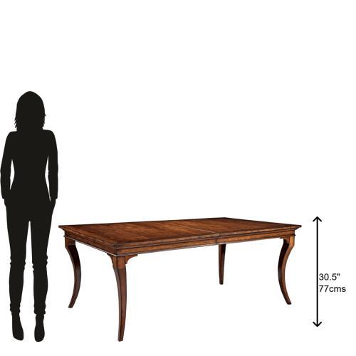 Hekman - 1-1120 European Legacy Leg Dining Table