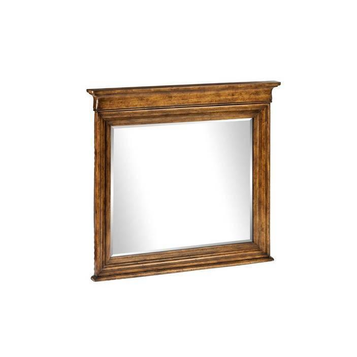 Louis Philippe Landscape Mirror - Sherwood