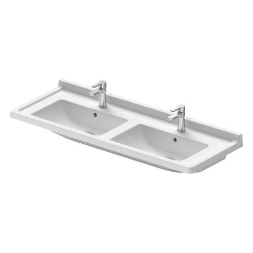 Duravit - Starck 3 Double Furniture Washbasin 3 Faucet Holes Punched