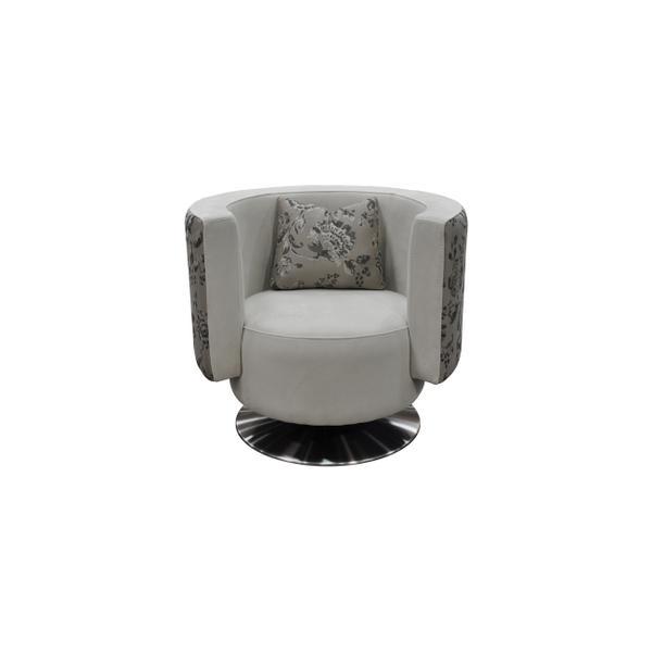 See Details - Vivaldi Barrel Accent Chair