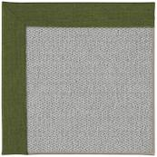Inspire-Silver Slingshot Leaf Green Machine Tufted Rugs