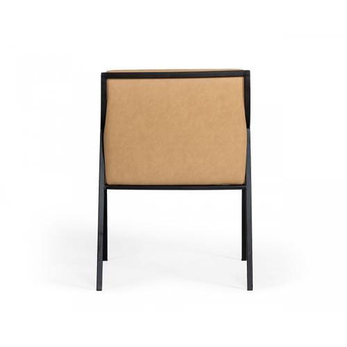 VIG Furniture - Modrest Raul - Modern Suede Tan Dining Chair