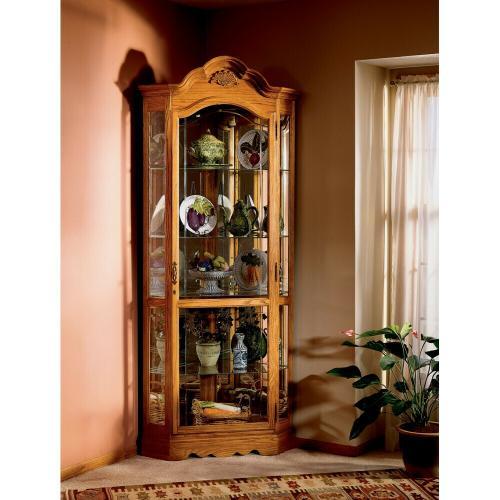 Gallery - Howard Miller Wilshire Curio Cabinet 680207