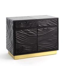 Product Image - Forest Nightstand-Charcoal Leather
