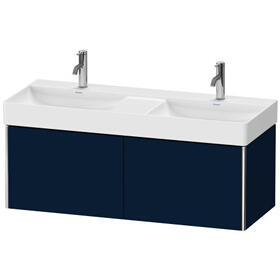 Vanity Unit Wall-mounted, Night Blue Satin Matte (lacquer)
