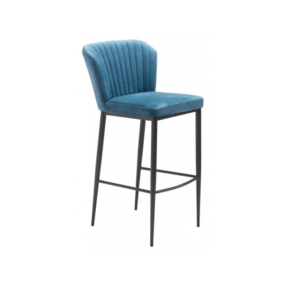 Tolivere Bar Chair Blue