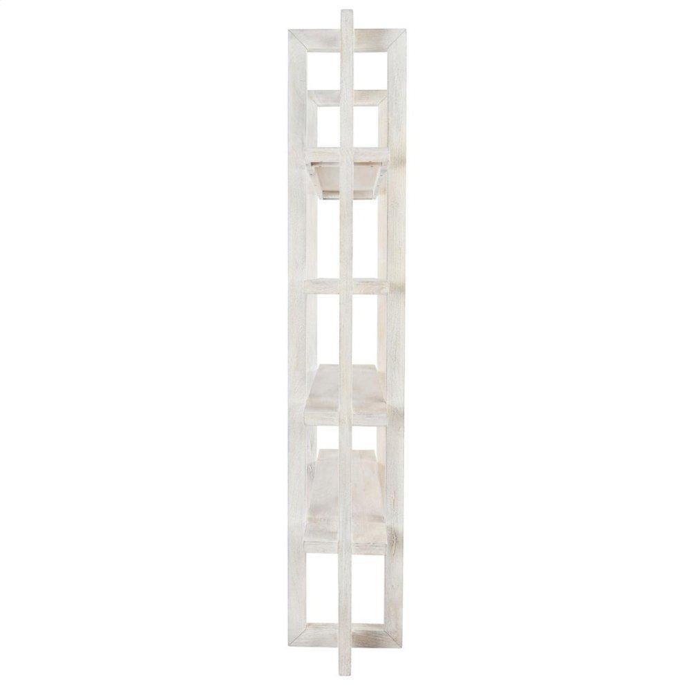 """Sydney Bookcase 96"""" White"""