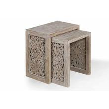 See Details - CROSSINGS EDEN Chairside Nesting Table
