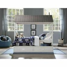 ACME Tree House II Trundle (Twin) - 37173 - Weathered White & Washed Gray