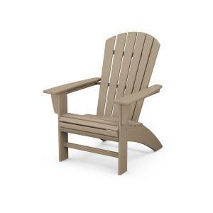 Polywood Furnishings - Nautical Curveback Adirondack Chair in Vintage Sahara