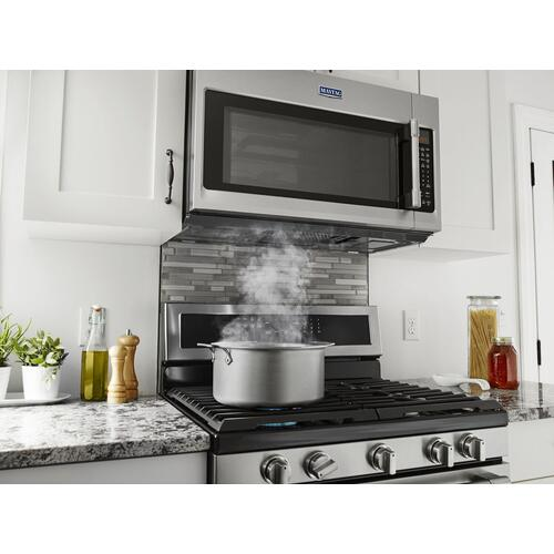 Gallery - Over-The-Range Microwave With WideGlide Tray - 2.1 Cu. Ft. Fingerprint Resistant Stainless Steel