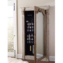 See Details - Chatelet Floor Mirror w/Jewelry Armoire Storage