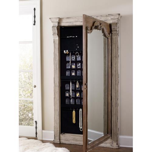 Hooker Furniture - Chatelet Floor Mirror w/Jewelry Armoire Storage