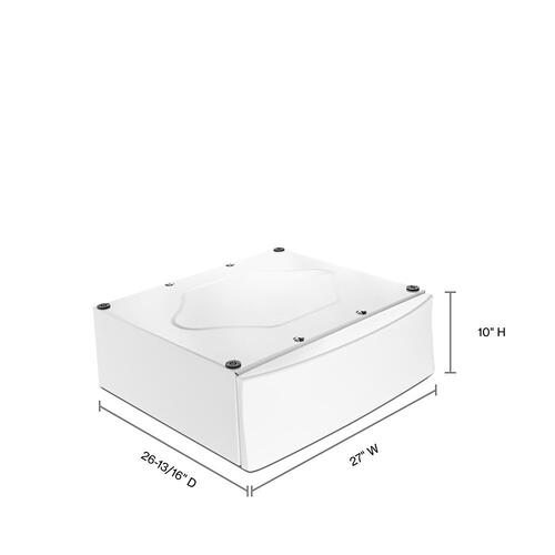 """Whirlpool - 10"""" Pedestal for Front Load Washer and Dryer"""