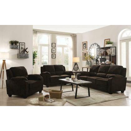 See Details - Northend Casual Chocolate Sofa