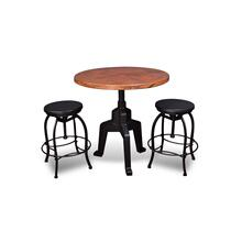 Tripoli Hand Hammered Copper Top Bistro Table