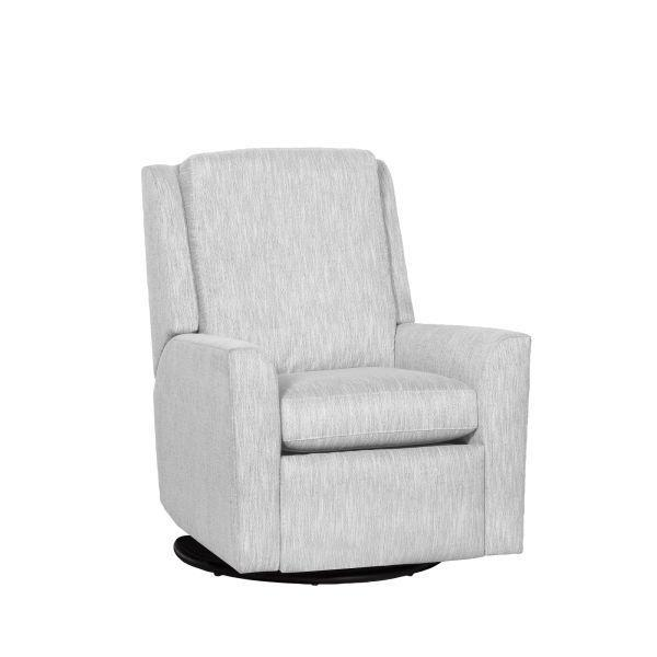 Reclination Hickory Arm Manual Push Back Swivel Glider Recliner