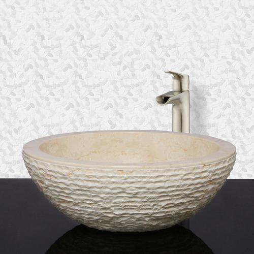 Pele Above Counter Marble Basin