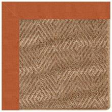 "View Product - Islamorada-Diamond Canvas Rust - Rectangle - 24"" x 36"""