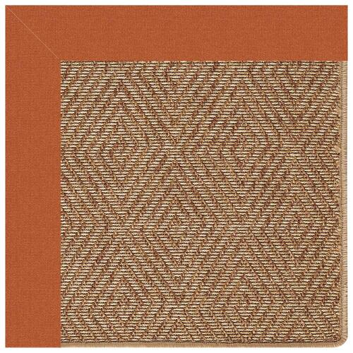 "Capel Rugs - Islamorada-Diamond Canvas Rust - Rectangle - 24"" x 36"""