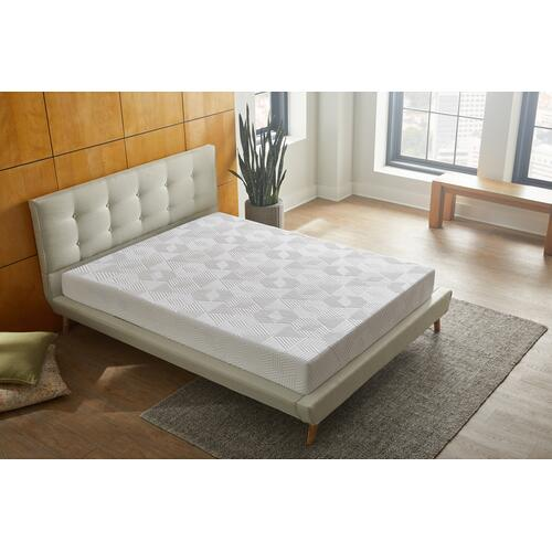 "Renue 8"" Medium Firm Memory Foam Mattress in Box, King"