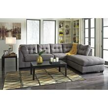 See Details - Charcoal Gray Sofa Chaise - RSF