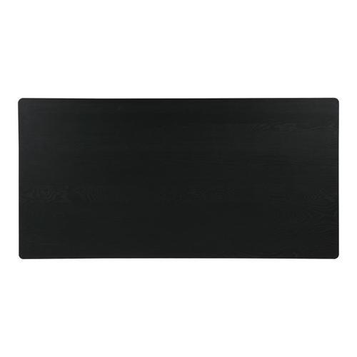 Godenza Dining Table Rectangular Black Ash
