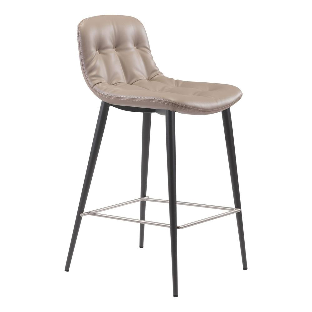 See Details - Tangiers Counter Chair Taupe