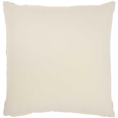 """Life Styles Sh030 Charcoal 20"""" X 20"""" Throw Pillow"""