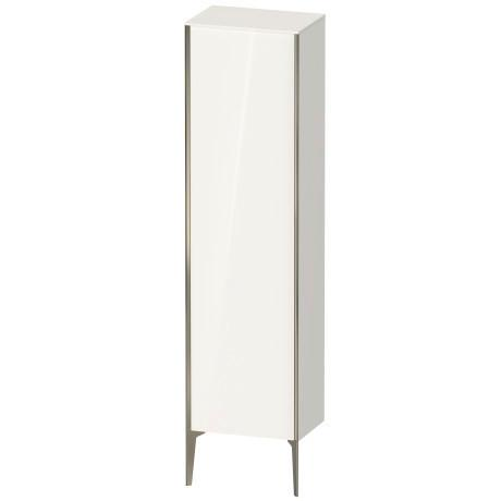 Tall Cabinet Floorstanding, White High Gloss (lacquer)
