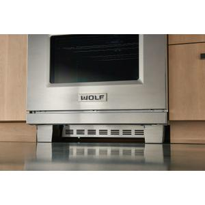 "Wolf  30"" Dual Fuel and Induction Range Kickplate"