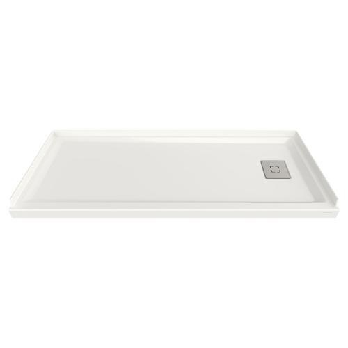 Studio 60x30-inch Acrylic Shower Base - Right Side Drain  American Standard - White