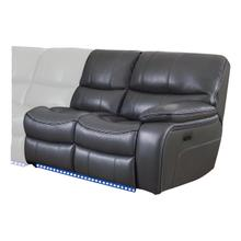 View Product - Power Right Side Reclining Love Seat with LED and USB Port