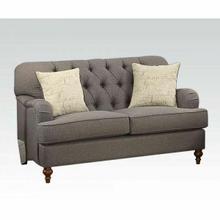 ACME Alianza Loveseat w/2 Pillows - 53691 - Dark Gray Fabric