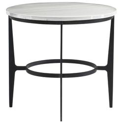 Avondale Round Metal End Table