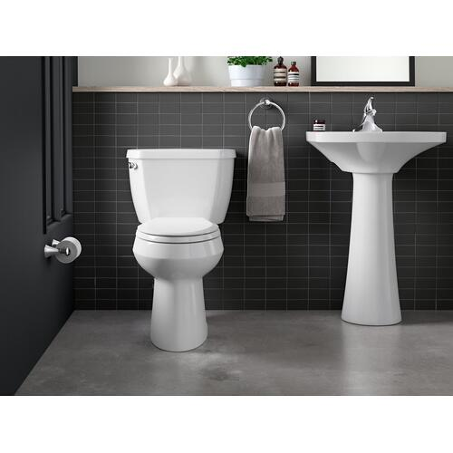 Vibrant Brushed Nickel Toilet Paper Holder