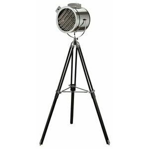 ACME Cinema Floor Lamp - 40210 - Black & Chrome