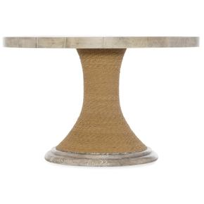 Amani 48in Round Pedestal Dining Table