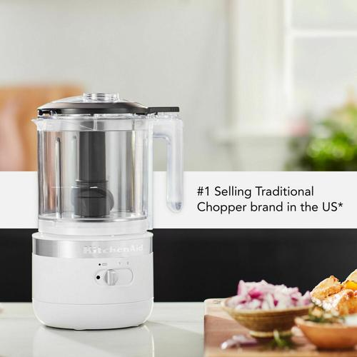 Gallery - Cordless 5 Cup Food Chopper - White