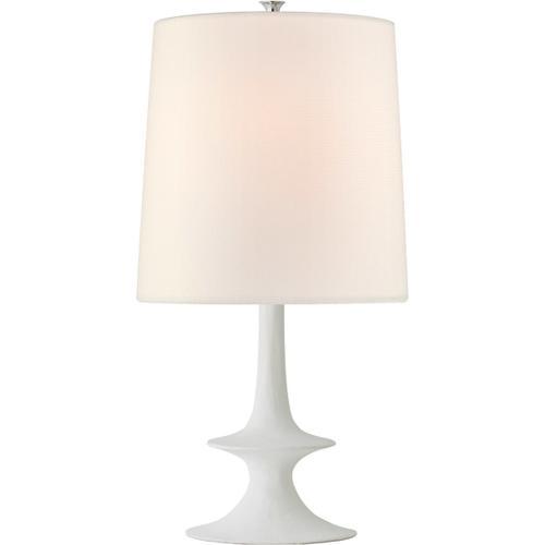 AERIN Lakmos 26 inch 100 watt Plaster White Table Lamp Portable Light, Medium