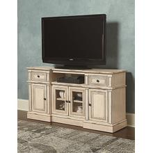 60 Inch Console - Bisque Finish