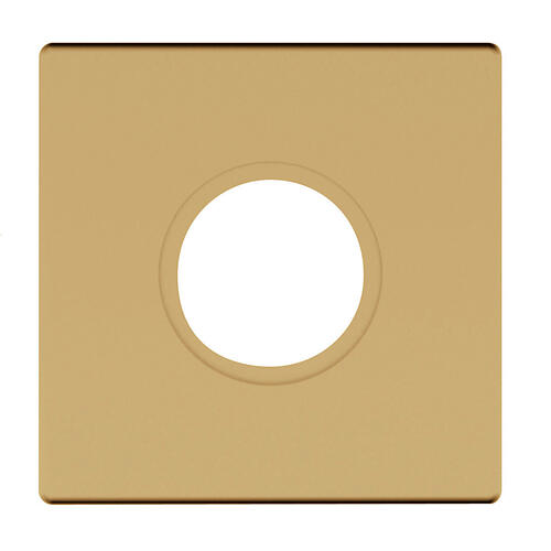 Baldwin - Vintage Brass R017 Estate Rose