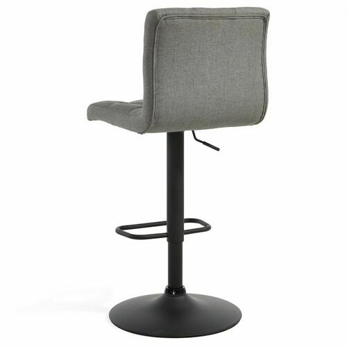 Worldwide Homefurnishings - Dex Air Lift Stool, set of 2 in Grey