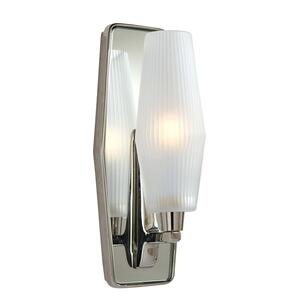 Barbara Barry Lighten Up 1 Light 5 inch Polished Nickel Sconce Wall Light