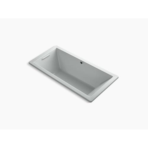 """Ice Grey 66"""" X 32"""" Drop-in Bath With Bask Heated Surface and End Drain"""